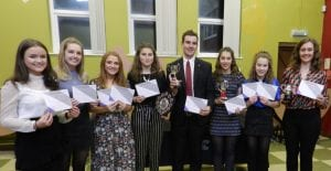 Public Speaking success for Lledrod YFC